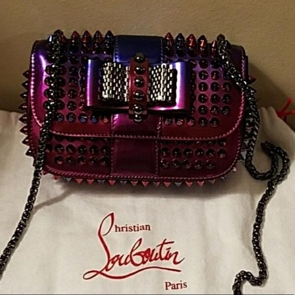df791b24af6 Christian Louboutin Sweet Charity Bag